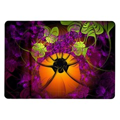 Patterns Lines Purple  Samsung Galaxy Tab 10 1  P7500 Flip Case by amphoto