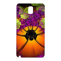 Patterns Lines Purple  Samsung Galaxy Note 3 N9005 Hardshell Back Case by amphoto
