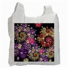 Abstract Patterns Fractal  Recycle Bag (one Side) by amphoto