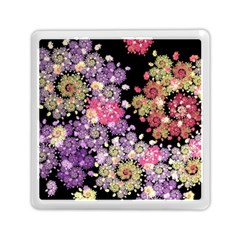 Abstract Patterns Fractal  Memory Card Reader (square)  by amphoto