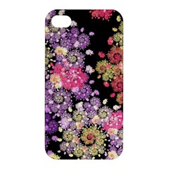 Abstract Patterns Fractal  Apple Iphone 4/4s Premium Hardshell Case by amphoto