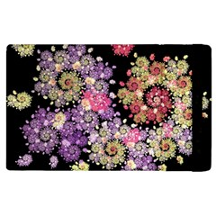 Abstract Patterns Fractal  Apple Ipad 2 Flip Case by amphoto