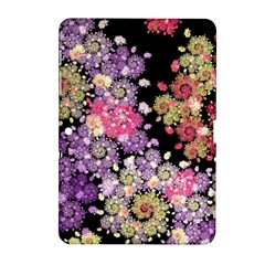 Abstract Patterns Fractal  Samsung Galaxy Tab 2 (10 1 ) P5100 Hardshell Case  by amphoto