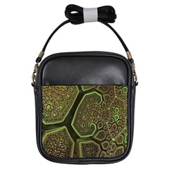 Fractal Weave Shape  Girls Sling Bags by amphoto