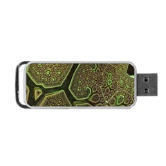 Fractal Weave Shape  Portable Usb Flash (one Side) by amphoto
