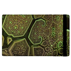 Fractal Weave Shape  Apple Ipad 2 Flip Case by amphoto