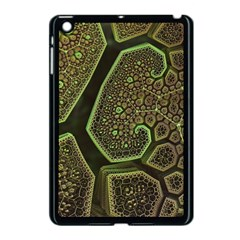 Fractal Weave Shape  Apple Ipad Mini Case (black) by amphoto