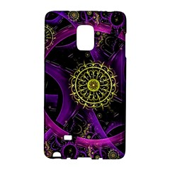 Fractal Neon Rings  Galaxy Note Edge by amphoto