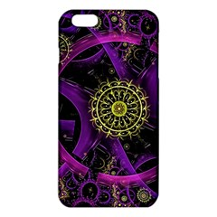 Fractal Neon Rings  Iphone 6 Plus/6s Plus Tpu Case by amphoto