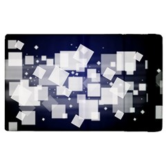 Squares Shapes Many  Apple Ipad 3/4 Flip Case by amphoto