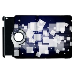 Squares Shapes Many  Apple Ipad 2 Flip 360 Case by amphoto