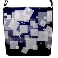 Squares Shapes Many  Flap Messenger Bag (s) by amphoto