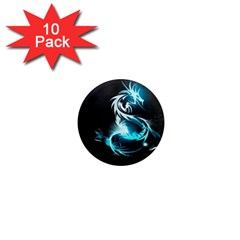 Dragon Classical Light  1  Mini Magnet (10 Pack)  by amphoto