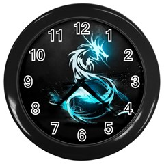 Dragon Classical Light  Wall Clocks (black) by amphoto