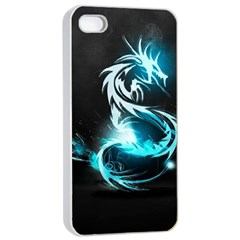 Dragon Classical Light  Apple Iphone 4/4s Seamless Case (white) by amphoto