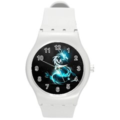 Dragon Classical Light  Round Plastic Sport Watch (m) by amphoto