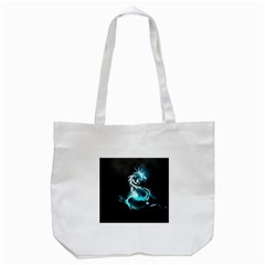 Dragon Classical Light  Tote Bag (white) by amphoto