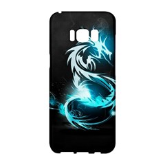 Dragon Classical Light  Samsung Galaxy S8 Hardshell Case  by amphoto