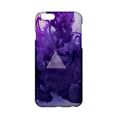 Smoke Triangle Lilac  Apple Iphone 6/6s Hardshell Case by amphoto