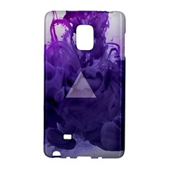 Smoke Triangle Lilac  Galaxy Note Edge by amphoto