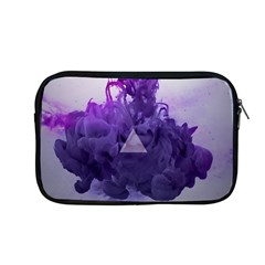 Smoke Triangle Lilac  Apple Macbook Pro 13  Zipper Case by amphoto
