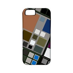 Abstract Composition Apple Iphone 5 Classic Hardshell Case (pc+silicone)