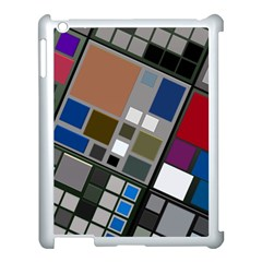 Abstract Composition Apple Ipad 3/4 Case (white) by Nexatart