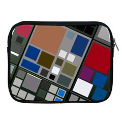 Abstract Composition Apple Ipad 2/3/4 Zipper Cases
