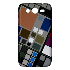 Abstract Composition Samsung Galaxy Mega 5 8 I9152 Hardshell Case