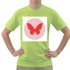 Butterfly Green T Shirt