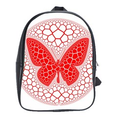 Butterfly School Bag (large) by Nexatart