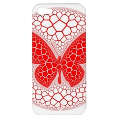 Butterfly Apple Iphone 5 Hardshell Case by Nexatart
