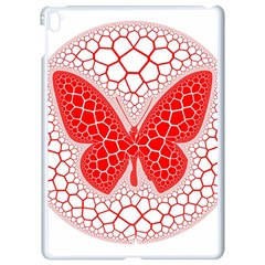 Butterfly Apple Ipad Pro 9 7   White Seamless Case by Nexatart