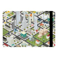 Simple Map Of The City Apple Ipad Pro 10 5   Flip Case by Nexatart