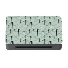 Telephone Lines Repeating Pattern Memory Card Reader With Cf by Nexatart