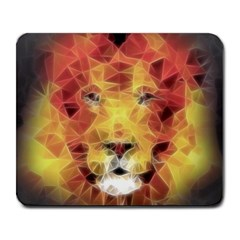 Fractal Lion Large Mousepads by Nexatart