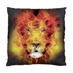 Fractal Lion Standard Cushion Case (two Sides)