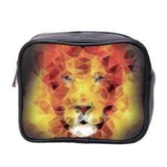 Fractal Lion Mini Toiletries Bag 2 Side