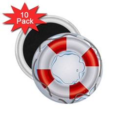 Spare Tire Icon Vector 2 25  Magnets (10 Pack)