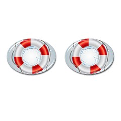 Spare Tire Icon Vector Cufflinks (oval) by Nexatart