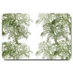 Trees Tile Horizonal Large Doormat