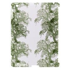 Trees Tile Horizonal Apple Ipad 3/4 Hardshell Case (compatible With Smart Cover)