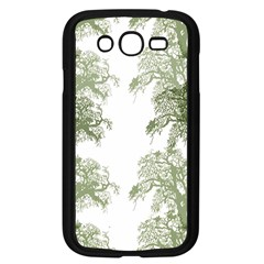 Trees Tile Horizonal Samsung Galaxy Grand Duos I9082 Case (black) by Nexatart