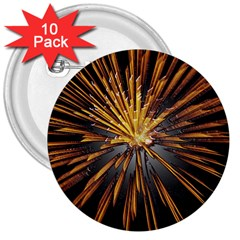 Pyrotechnics Thirty Eight 3  Buttons (10 Pack)