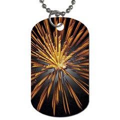 Pyrotechnics Thirty Eight Dog Tag (two Sides)