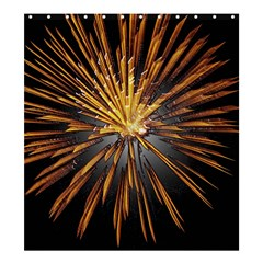 Pyrotechnics Thirty Eight Shower Curtain 66  X 72  (large)