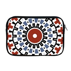 Mandala Art Ornament Pattern Apple Macbook Pro 17  Zipper Case by Nexatart