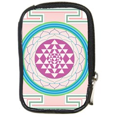 Mandala Design Arts Indian Compact Camera Cases