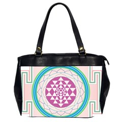 Mandala Design Arts Indian Office Handbags (2 Sides)