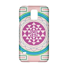 Mandala Design Arts Indian Samsung Galaxy S5 Hardshell Case  by Nexatart